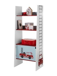 Etag re chelle gar on th me pompier vertbaudet enfant - Etagere chambre d enfant ...