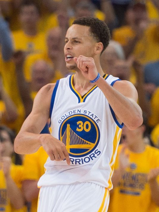 Stephen Curry, Warriors hold off Anthony Davis, Pelicans in Game 1
