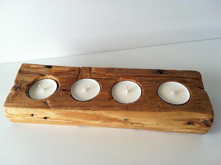 DIY - candelabro rústico