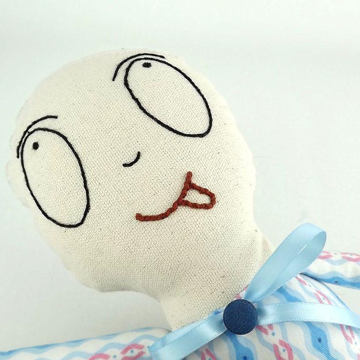 Crazy doll .Handmadedoll.Emotion doll. Soft toy
