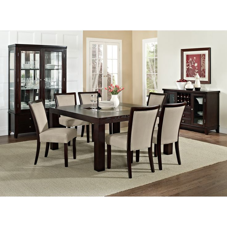 Tango Stone 7 Pc Dinette 60 Table