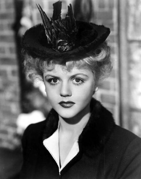 Angela Lansbury, 1945, publicity shot for The Picture of Dorian Gray