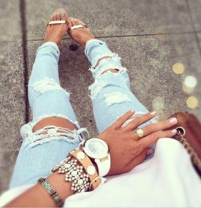 Fashion love   Jeans   Shoes