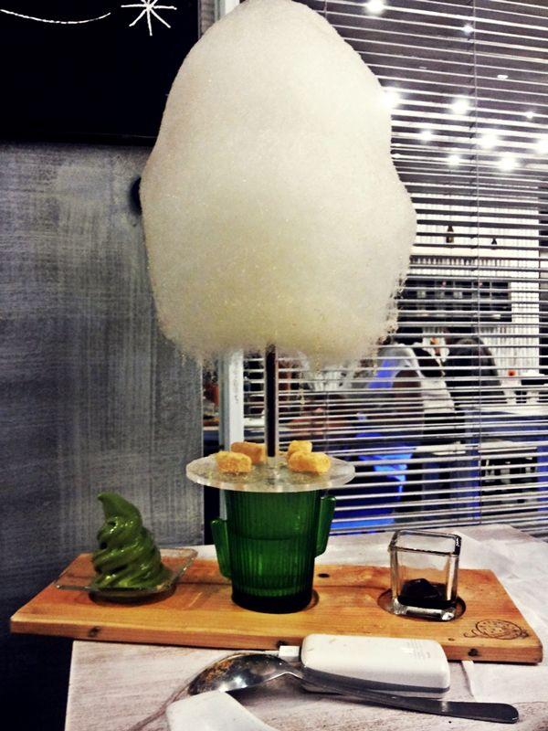 Shirayuki Cotton Candy Dessert