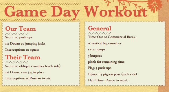 Game Day Workout!Group Workout, Football Seasons, Football Games, Colleges Football, Workout Plans, Lose Weights, College Football, Weights Loss, Rapid Weights
