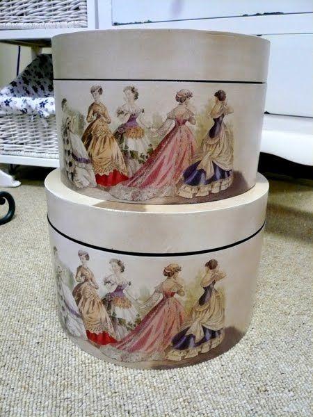 Ballgown Hat boxes♥