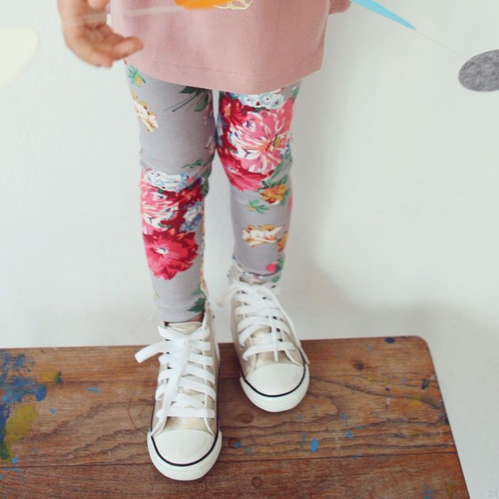 Lilas Flower Leggings (2C)