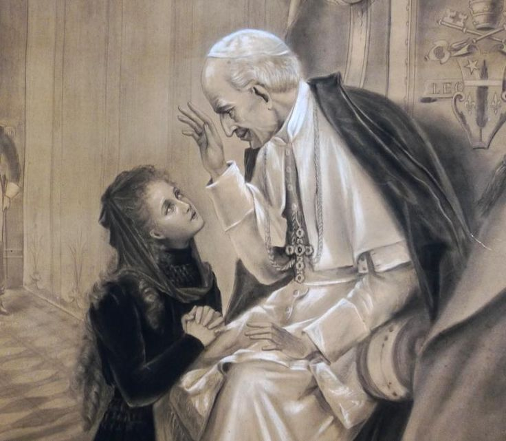 The little flower and Pope Leo XIII