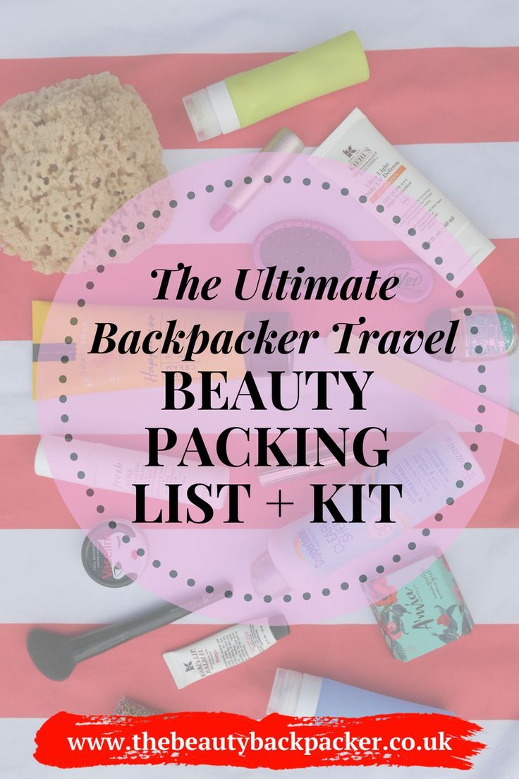 The Ultimate Travel Beauty Packing List and Kit for
