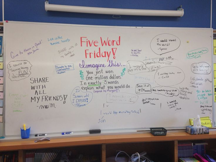 Five Word Friday!!!