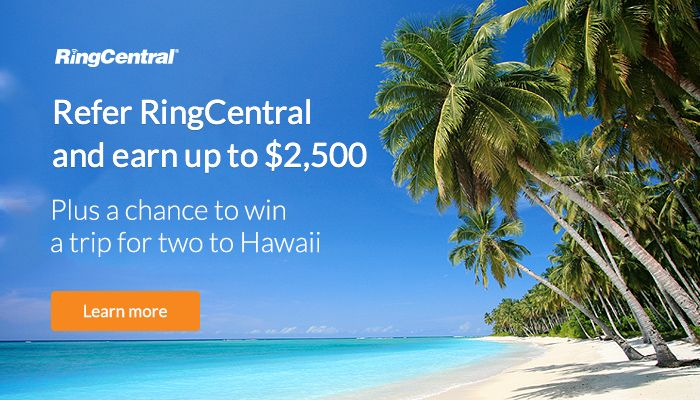 There are still 10 days left to submit #referrals to RingCentral for your chance to win a trip for two to #Hawaii, and up to $2,500! Start submitting your #customer referrals today: http://ringcentr.al/HawaiiP // #Contest #EnterToWin #Giveaway #CustomerReferrals