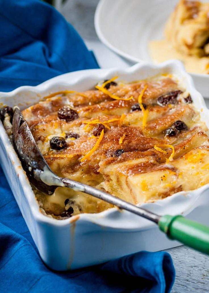 Geoffrey Smeddle updates this British favourite - the Bread & Butter Pudding - using leftover brioche and a zesty custard.