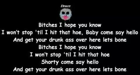 ~Bitches (Hollywood Undead)