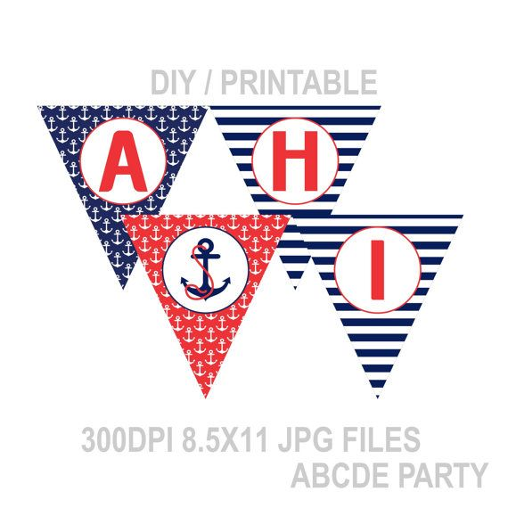 8 Best Ahoy Its A Boy Baby Shower Images On Pinterest