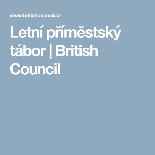 Letní příměstský tábor | British Council