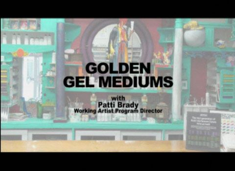 GOLDEN GEL MEDIUMS FEATURING PATTI BRADY Gel Mediums video featuring Patti Brady. Discusses the attributes of the translucent gel mediums and what differentiates them from one another.