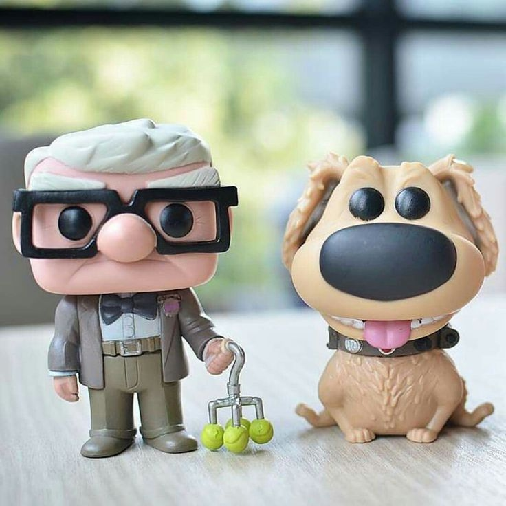 Up characters made of clay