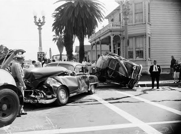 Old Time Auto Accidents Old Vintage Cars Car Accident Car Crash