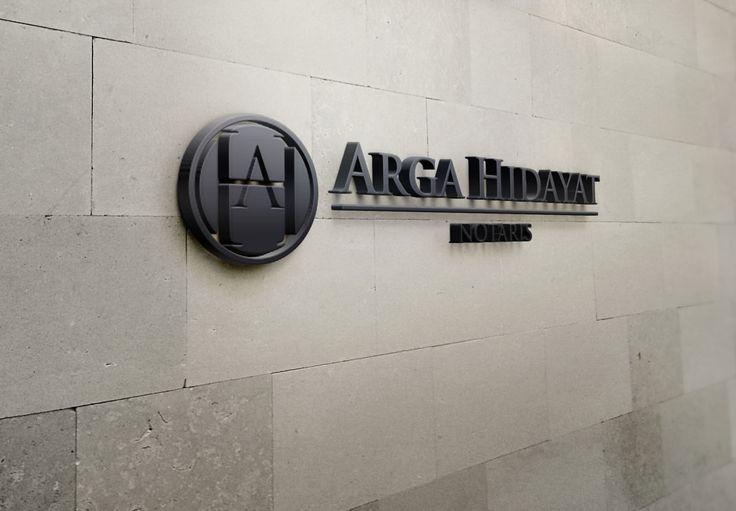 Arga Hidayat - Public notary. Designed at 2013