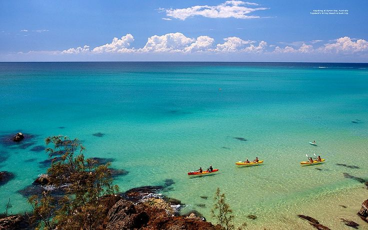 Byron Bay - Best Beaches in Australia. If you are under 25, stay at the arts factory hostile, and get a tent on the water.