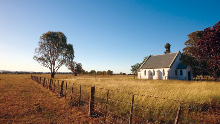 One of our favourite country churches in Milawa.
