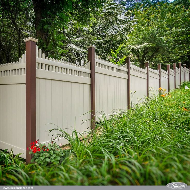 Best ideas about vinyl fence panels on pinterest