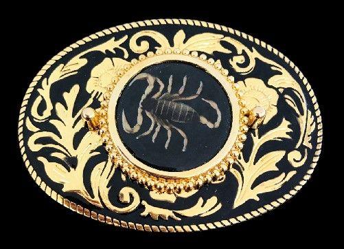 Big Scorpion Belt Buckle Zodiac Sign Cowboy Fashion Metal New Rodeo Mens Western #scorpion #scorpio #zodiac #zodiacsign #horoscope #western #buckle #beltbuckle #buckles