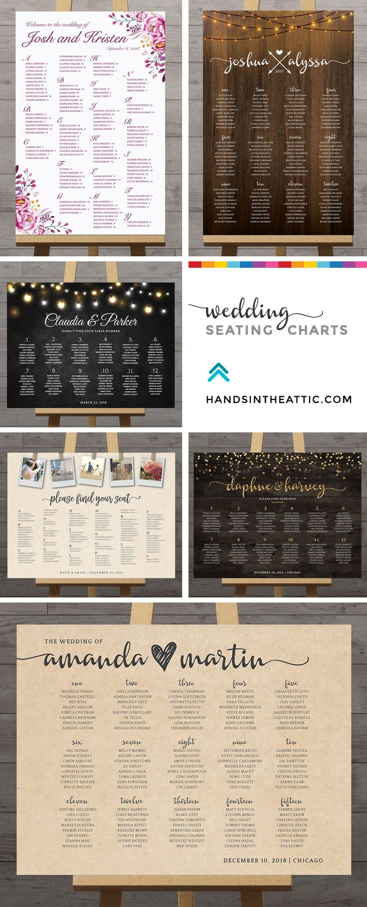Wedding seating charts ideas ~ Printable stationery | Weddings, Parties & Celebrations