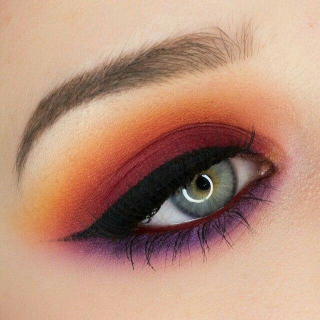 Red, orange and purple MUI