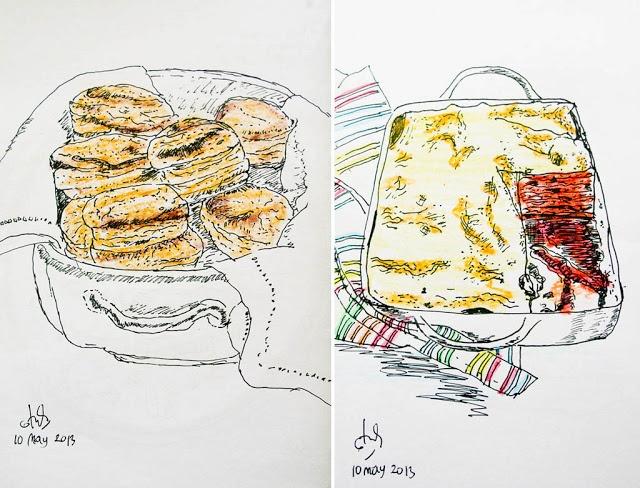 My Food Drawings yummy with me (Dengan gambar