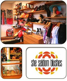 She Seldom Blushes Telephone: 08 9430 8830 Address: Shop 5, Atwell Arcade, FremantleShe Seldom Blushes has been very much at home in the historic Atwell Arcade since 2009. Fremantle local, Fern Vallesi, opened the store as an outlet for her own jewellery label of the same name, but has also filled it with other things she loves - new, old and new made from old.