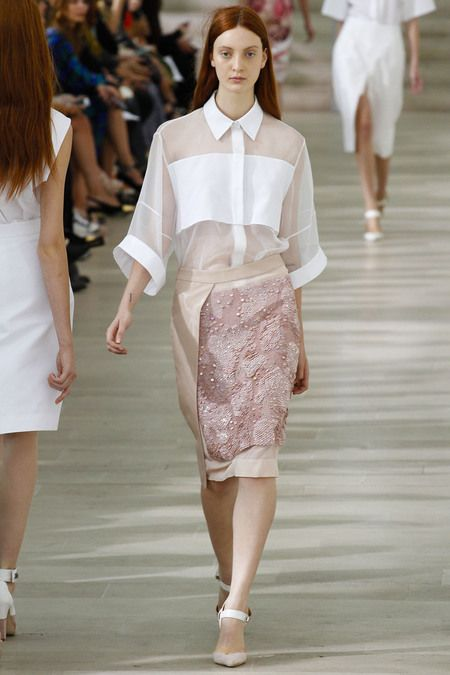 Preen  This look is great but can stop thinking what if that skirt were a dress ...