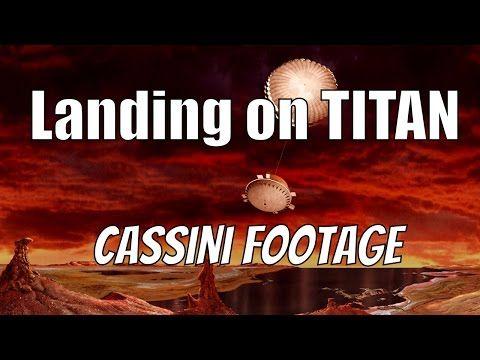 Huygens: Titan Descent Movie (2005.01.14) - YouTube