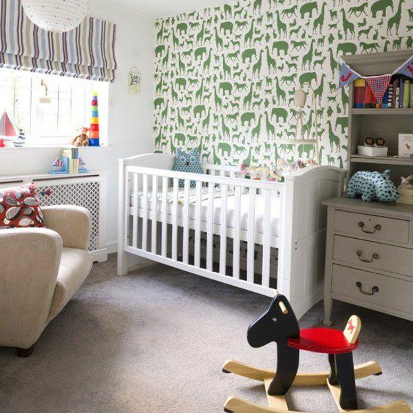 Deko Ideen Thematisch Babyzimmer Gestalten Einrichten | Nursery ... Babyecke Im Schlafzimmer Gestalten
