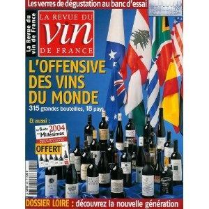 La Revue du vin de France - n°480 - 01/04/2004 - L'offensive des vins du monde / Le guide 2004 des millésimes [magazine mis en vente par Presse-Mémoire]