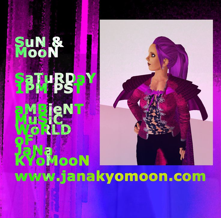 JaNa KYoMooN at the SuN and MooN If you can't make the show you can download the music from all good digital outlets including http://janakyomoon.bandcamp.com and on itunes too! https://itunes.apple.com/gb/artist/jan-pulsford/id1162192 Thanks for your support!