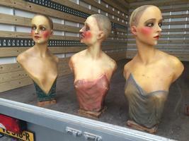 70 cm high wax mannequin art deco