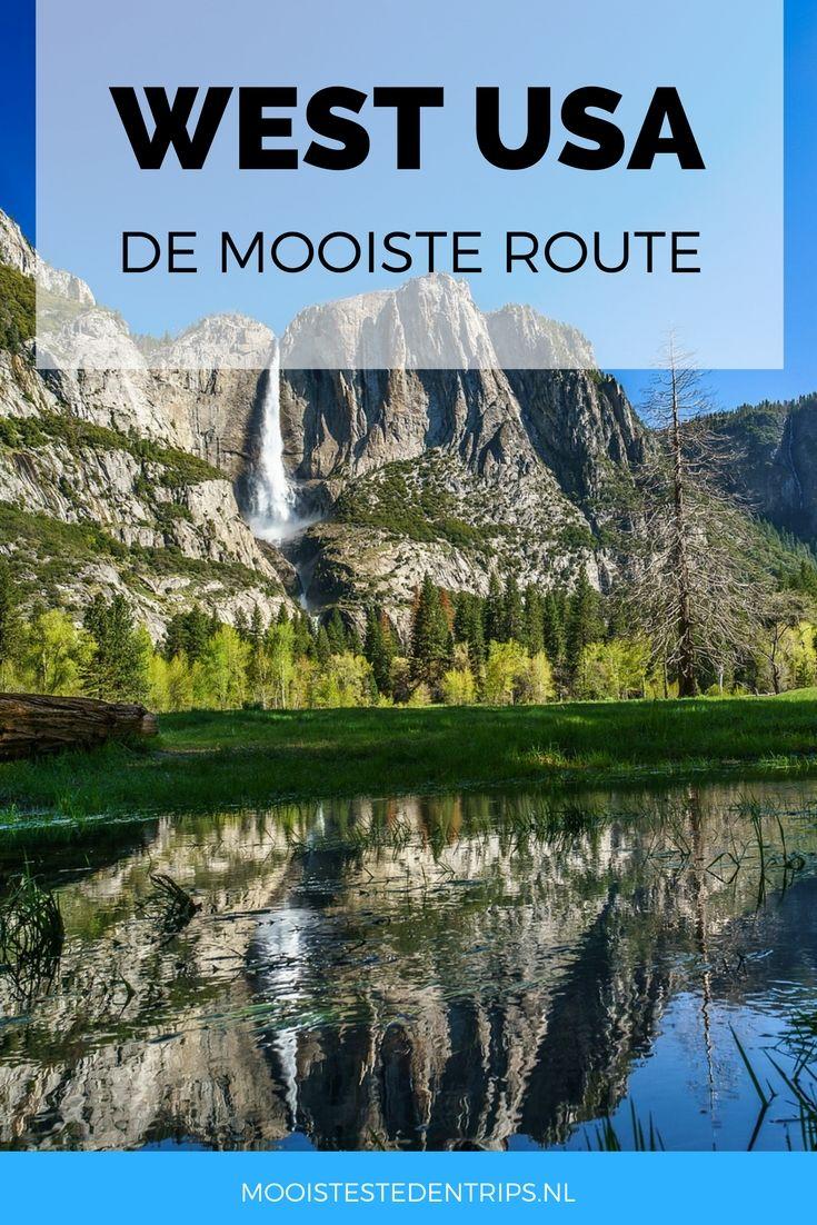 West-USA: de mooiste route. Wil je een rondreis maken in de USA en ben je op zoek naar een mooie route? Zoek niet verder! Dit is de mooiste route in West-USA   Mooistestedentrips.nl