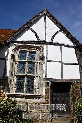 Historic timber framed building in Old Town , Hastings , East Sussex