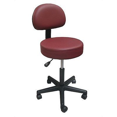 Sorbus Pneumatic Rolling Office Chair Upholstery: Burgundy
