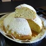 Torta soffice ricotta e limone