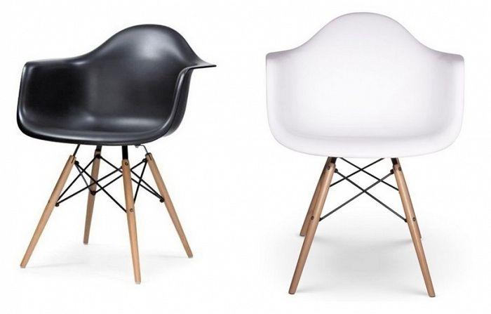 Moderní židle Meses černá