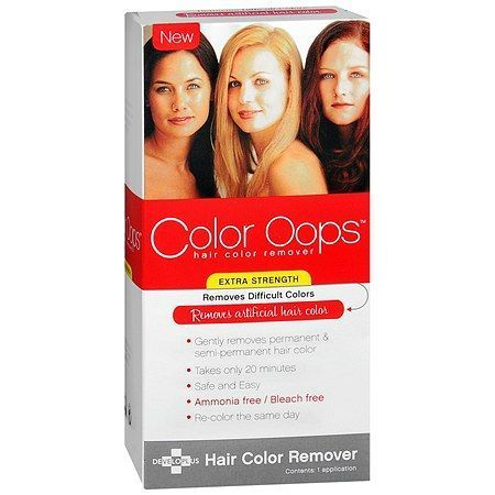 Color Oops Extra Strength Hair Color Remover - 1 Application