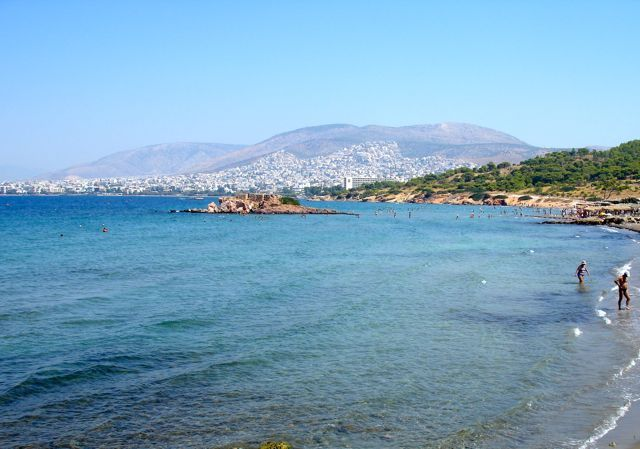 Vouliagmeni: close enough to Athens so that you can stay on the beach and still get into the city to see the sites. See Astir beach, Vouliagmeni beach, lake Vouliagmeni spa.