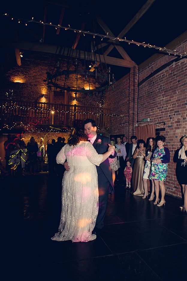 Melanie and Martin's Real life wedding at Curradine Barns - First dance | CHWV