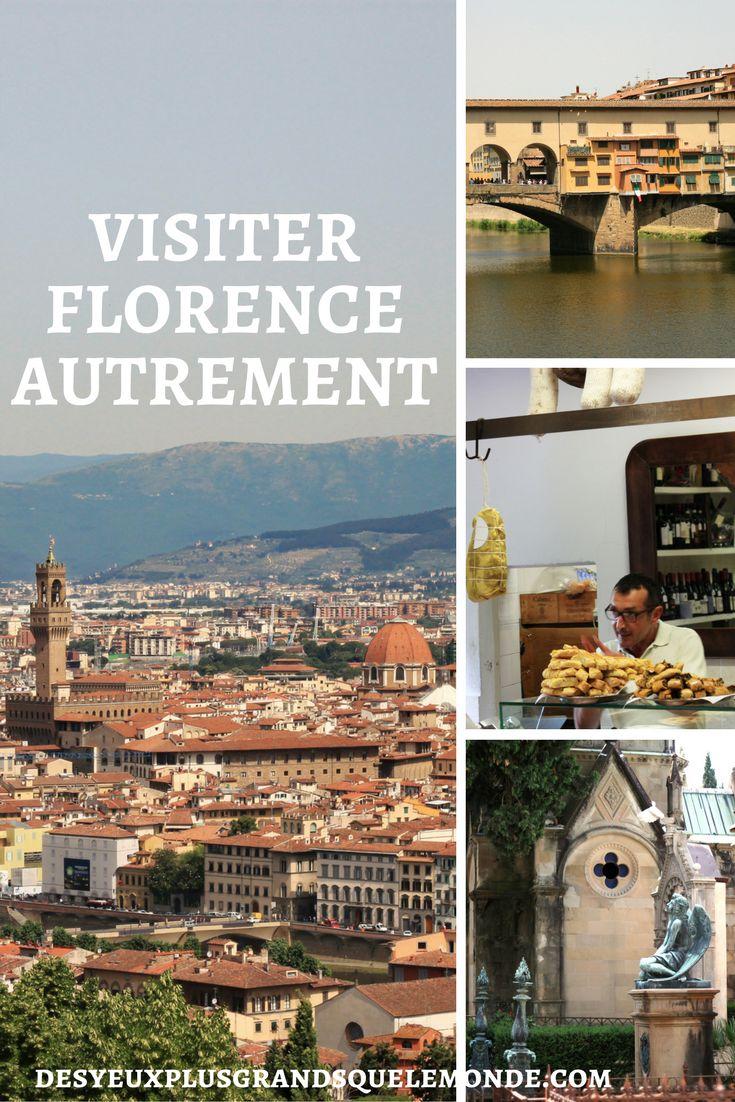 Des bons plans pour visiter Florence autrement, des parcs, jardins et les lieux à visiter aux alentours et hors des sentiers battus.