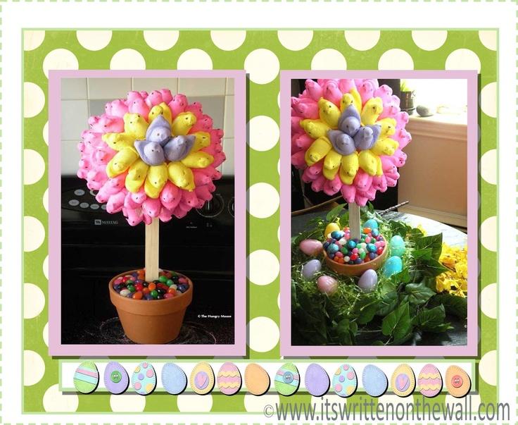Adorable Peep Topiary