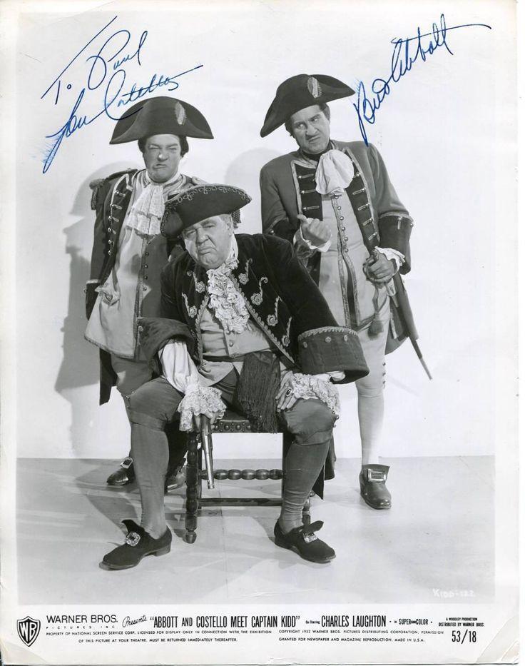 abbott captain costello kidd meet movie poster