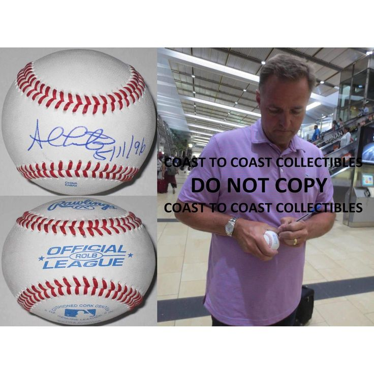 Al Leiter, New York Yankees, Marlins, Mets, Blue Jays, Signed, Autographed, Baseball, a Coa with the Proof Photo of Al Signing Will Be Included.