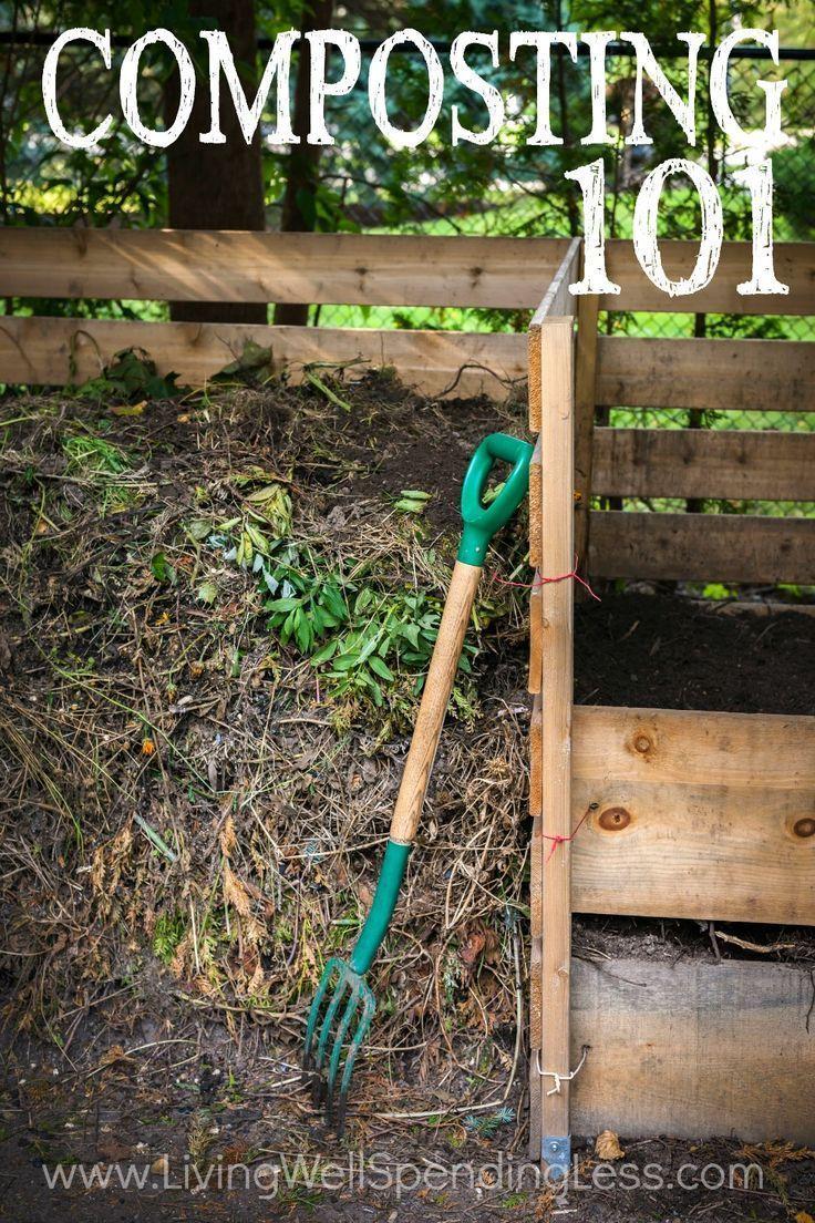 Composting 101 | How to compost | Beginner Gardening Tips | Budget Garden via lwsl